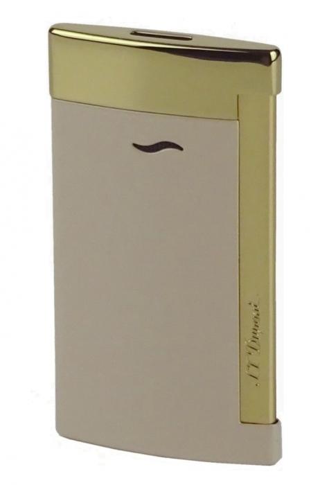 S.T. Dupont Slim 7 beige-gold glänzend