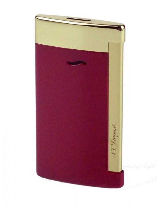 S.T. Dupont Slim 7 rot-gold glänzend