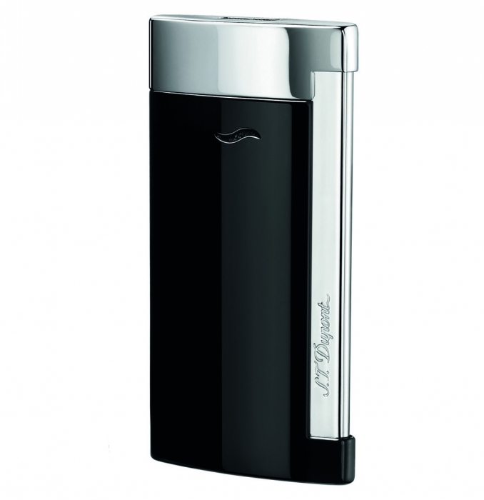 S.T. Dupont Slim 7 schwarz glänzend