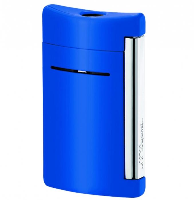 S.T. Dupont MiniJet blau glänzend