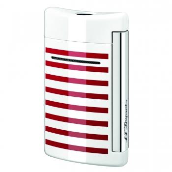 S.T. Dupont MiniJet weiss roten Streifen